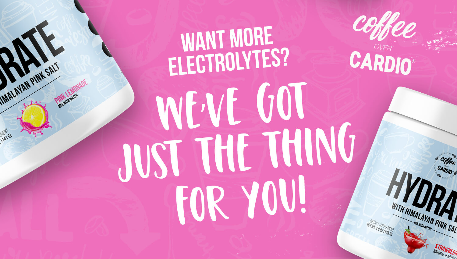 Electrolytes for your water, Hydrate
