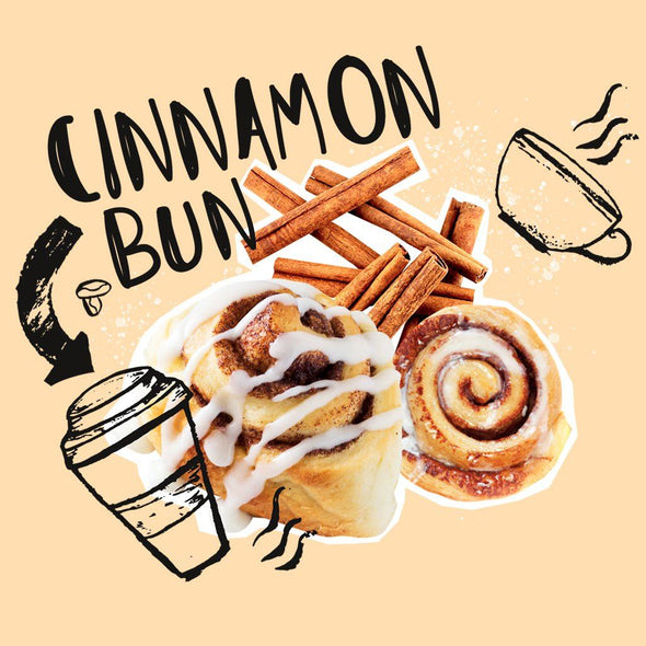 Coffee - Messy Bun - Cinnamon Bun Coffee