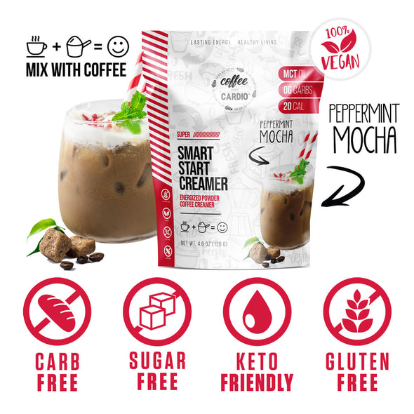 SUPER Smart Start Creamer- Peppermint Mocha