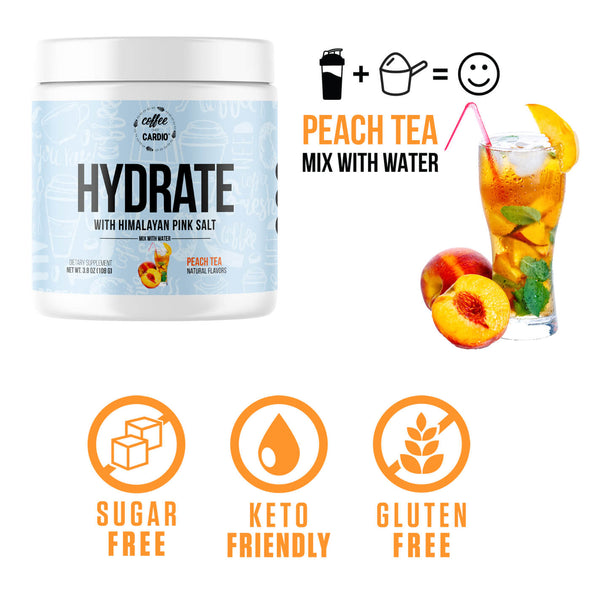 Hydrate [Water] - Peach Tea