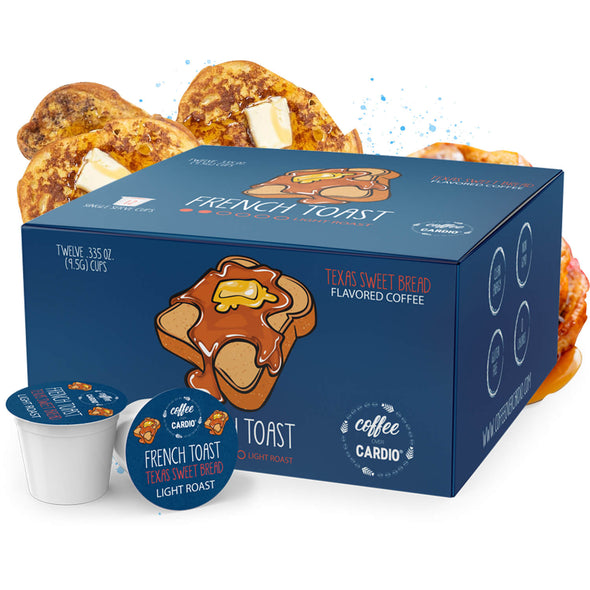French Toast - Texas Sweet Bread 12ct KPods
