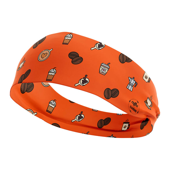 Orange Coffee Headband