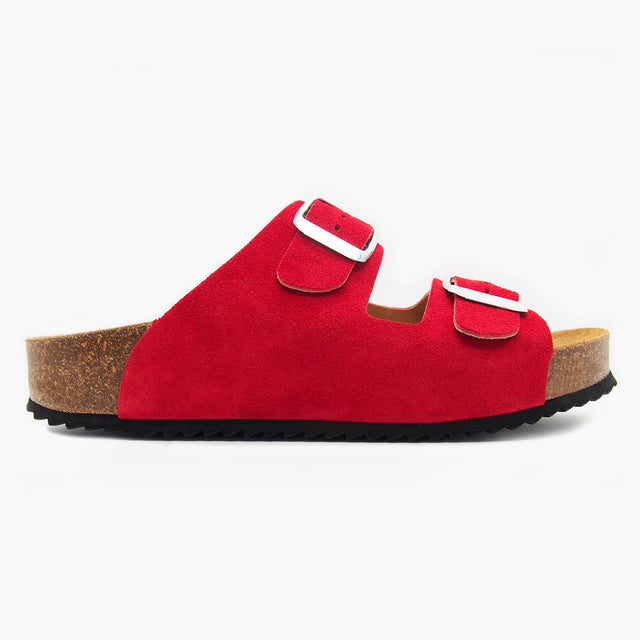 Corsica Red Suede