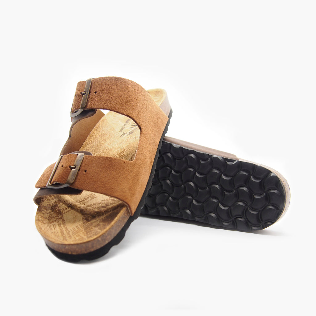 Formentera Brown Leather-Suede