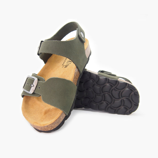 Comfort Sandal for Kids: Capri Crusoe Nubuck