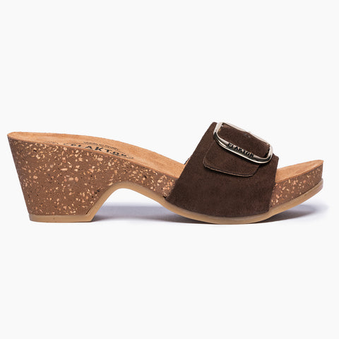 Helena Brown Suede
