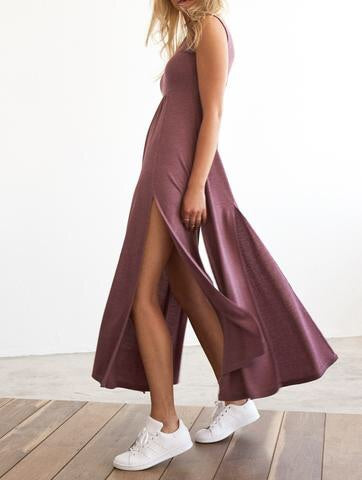 Demi Dress in Berry - Eclectic Blue