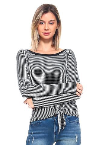 Monica Top - Eclectic Blue