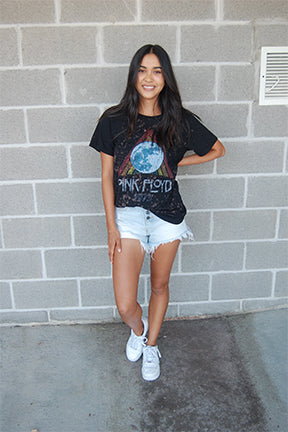 Pink Floyd Band Tee - Eclectic Blue