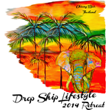 2014 Drop Ship Lifestyle Chiang Mai Retreat Shirt (Elephant)