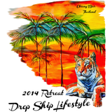 2014 Drop Ship Lifestyle Chiang Mai Retreat Shirt (Tiger)