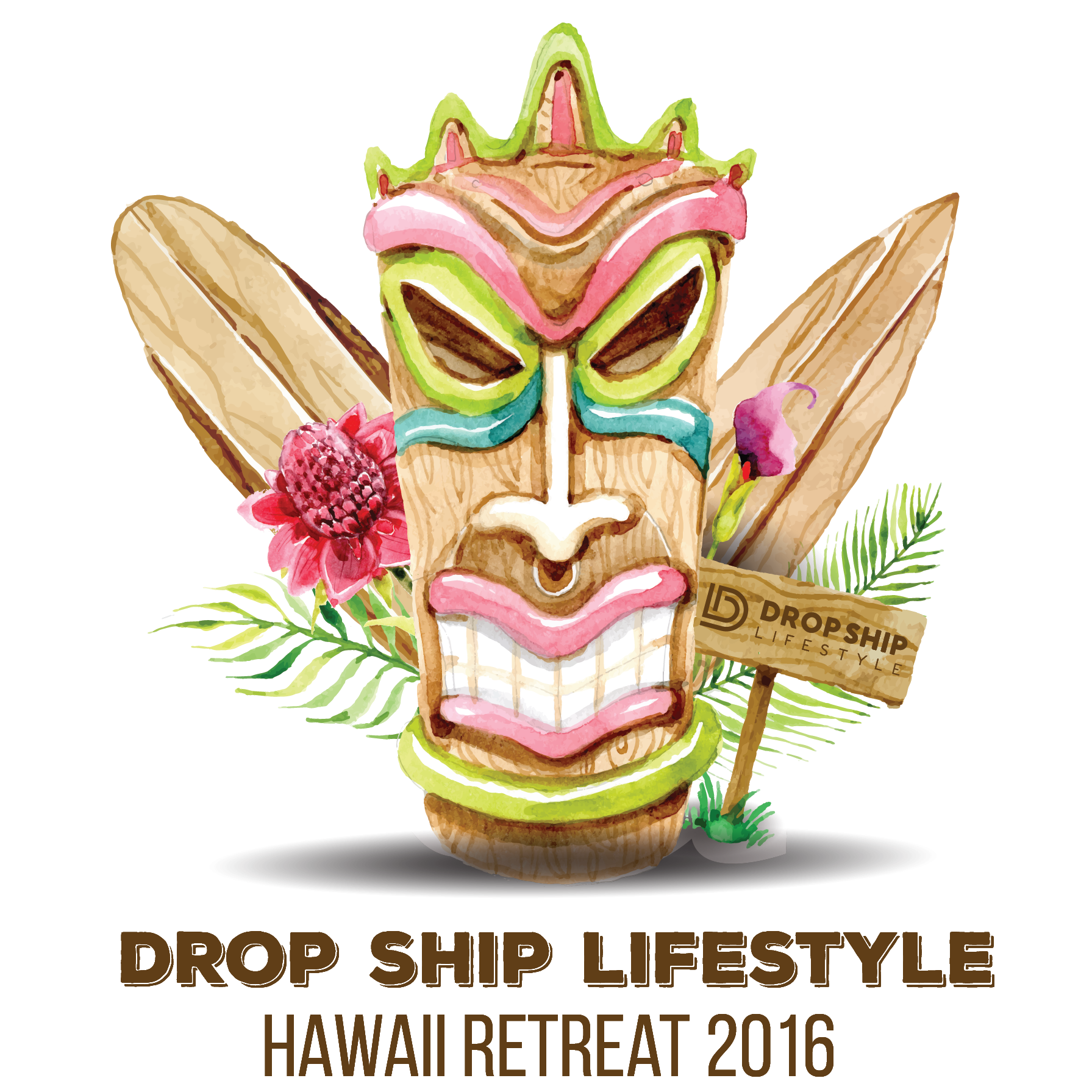 2016 Drop Ship Lifestyle Kona Retreat Shirt