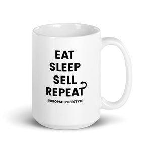 Eat, Sleep, Sell, Repeat Mug