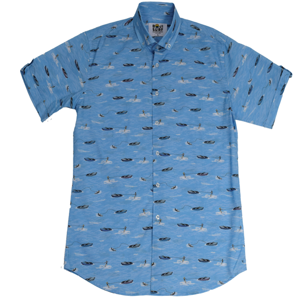 AQUAHOLIC BUTTON DOWN