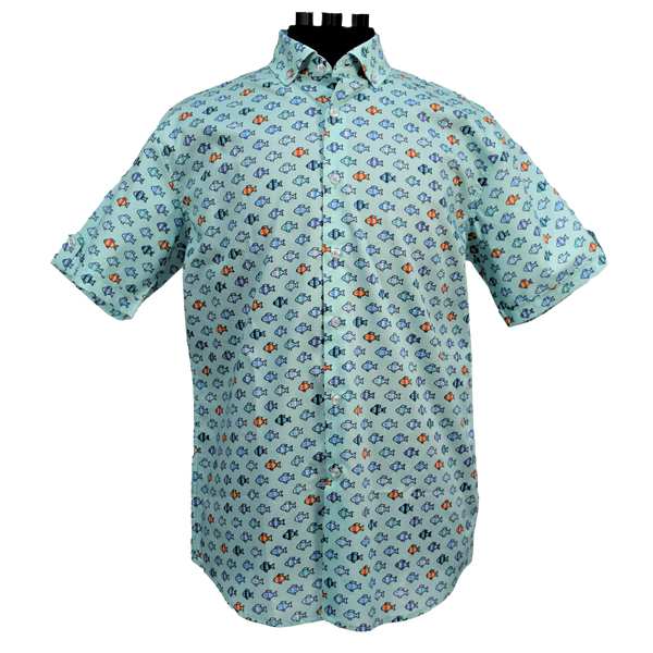 BOJI FISH BUTTON DOWN
