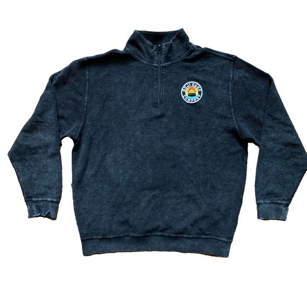 PATCH ZIP TERRY PULLOVER - BOJI SURF CO.™️