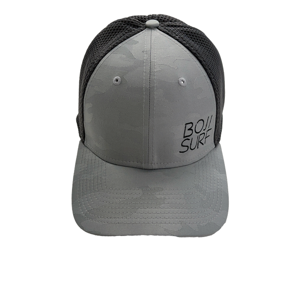 BOJI SURF CAMO GRAPHITE FITTED HAT