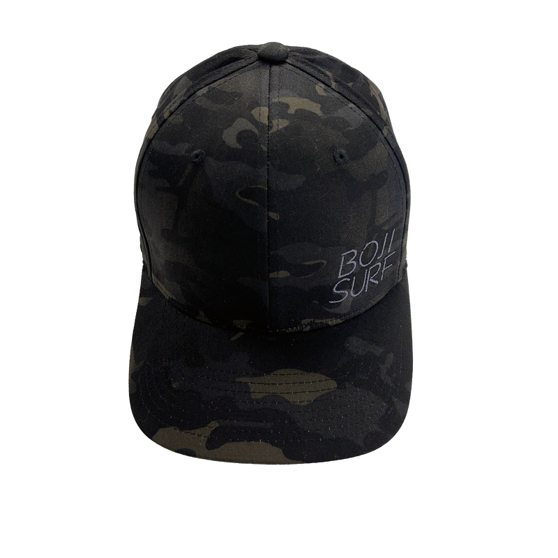 BOJI SURF MULTICAM BLACK FITTED HAT
