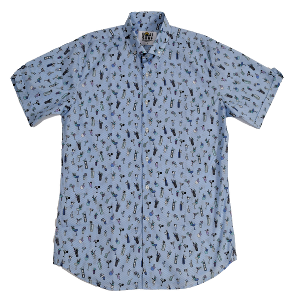 HAPPY HOUR BUTTON DOWN