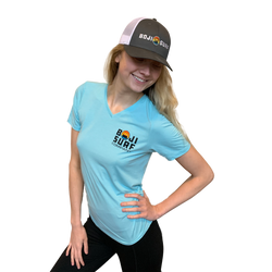 WOMENS SHORELINE V-NECK - BOJI SURF CO.™️