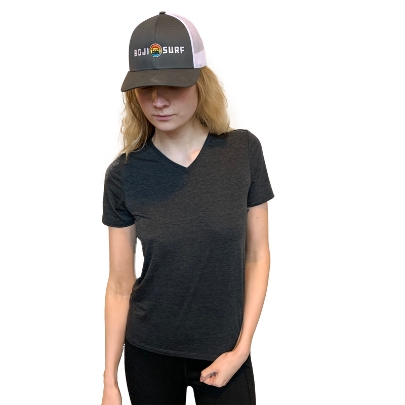 WOMENS LAKESIDE V-NECK - BOJI SURF CO.™️