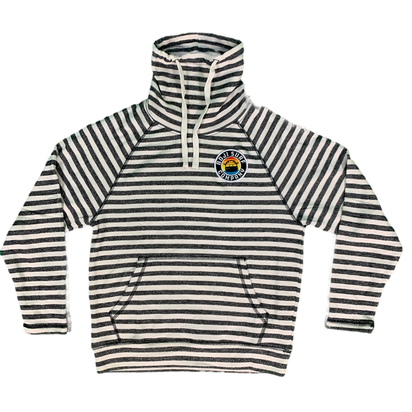 PATCH FUNNEL NECK PULLOVER - BOJI SURF CO.™️