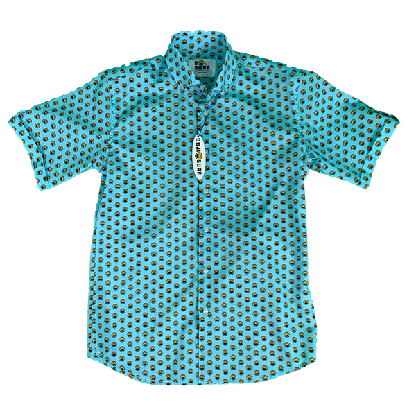 POLKA BOAT BUTTON DOWN - BOJI SURF CO.™️
