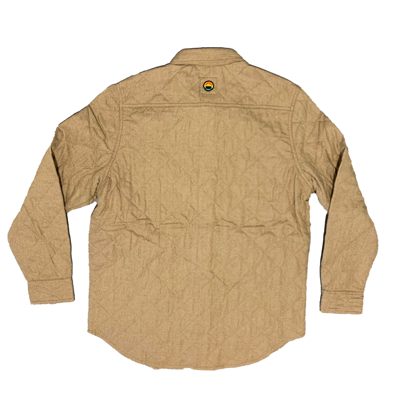 BOJI SURF PATCH QUILTED SHIRT JACKET