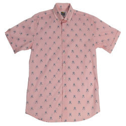 SURF OR DIE BUTTON DOWN