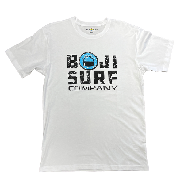 BOJI SURF DISTRESSED LOGO TEE