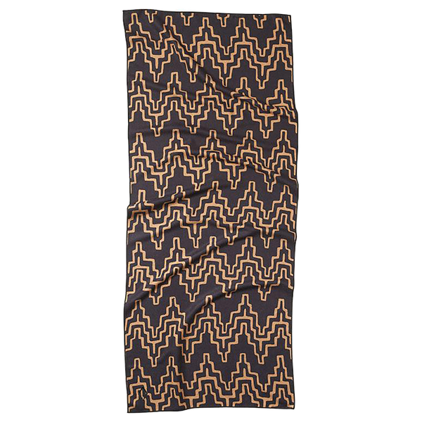 COCORA BLACK & TAN TOWEL