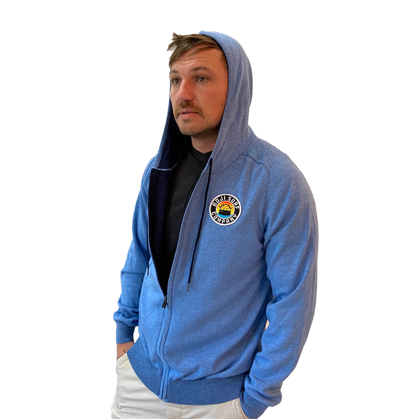 PATCH KNIT ZIP HOODIE - BOJI SURF CO.™️