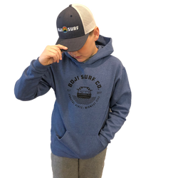COASTAL VIBES-MIDWEST TIES YOUTH HOODIE - BOJI SURF CO.™️
