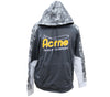 Acme Grey/Dark Grey Freeze Colorblock Hooded Sweatshirt