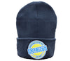 Kalin's Navy Fleece Lined Knit Cap