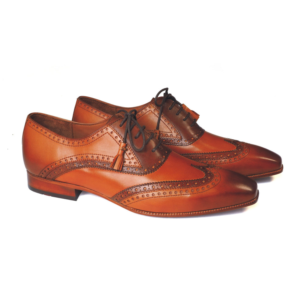 Greer Anderad Men's Leather Lace-up Oxford Shoes Tan Brown GA-02-14 - Greer & Anderad