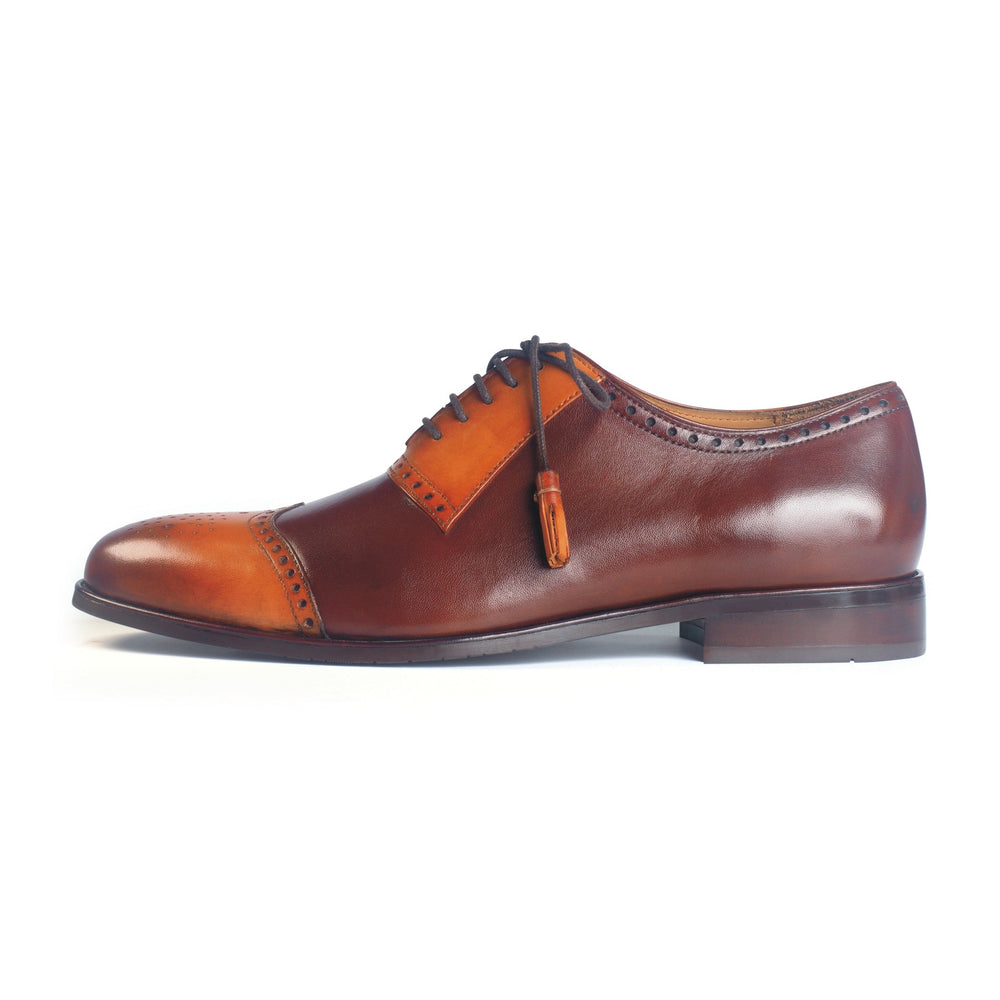 Greer Anderad Men's Leather Lace-up Oxford Shoes Tan Brown GA-03-11 - Greer & Anderad