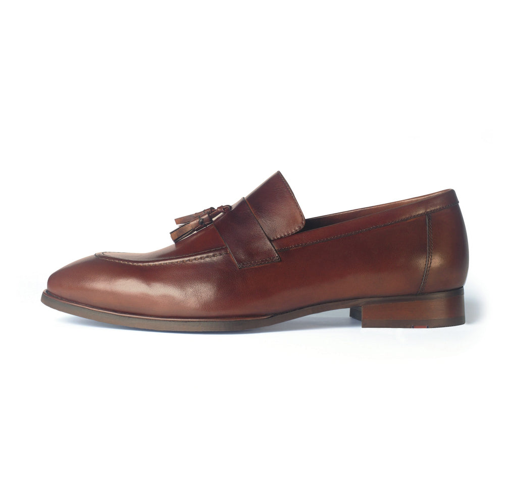 Greer Anderad Men's Leather Loafer Shoes Brown GA-04-04 - Greer & Anderad