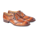Greer Anderad Men's Leather Lace-up Oxford Shoes Tan GA-04-02 - Greer & Anderad