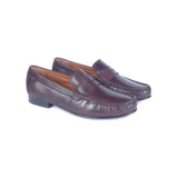 Greer Anderad Men's Leather Moccasin / Loafer Shoes Brown GA-05-02 - Greer & Anderad