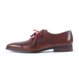 Greer Anderad Men's Leather Lace-up Derby Shoes Brown GA-02-09 - Greer & Anderad