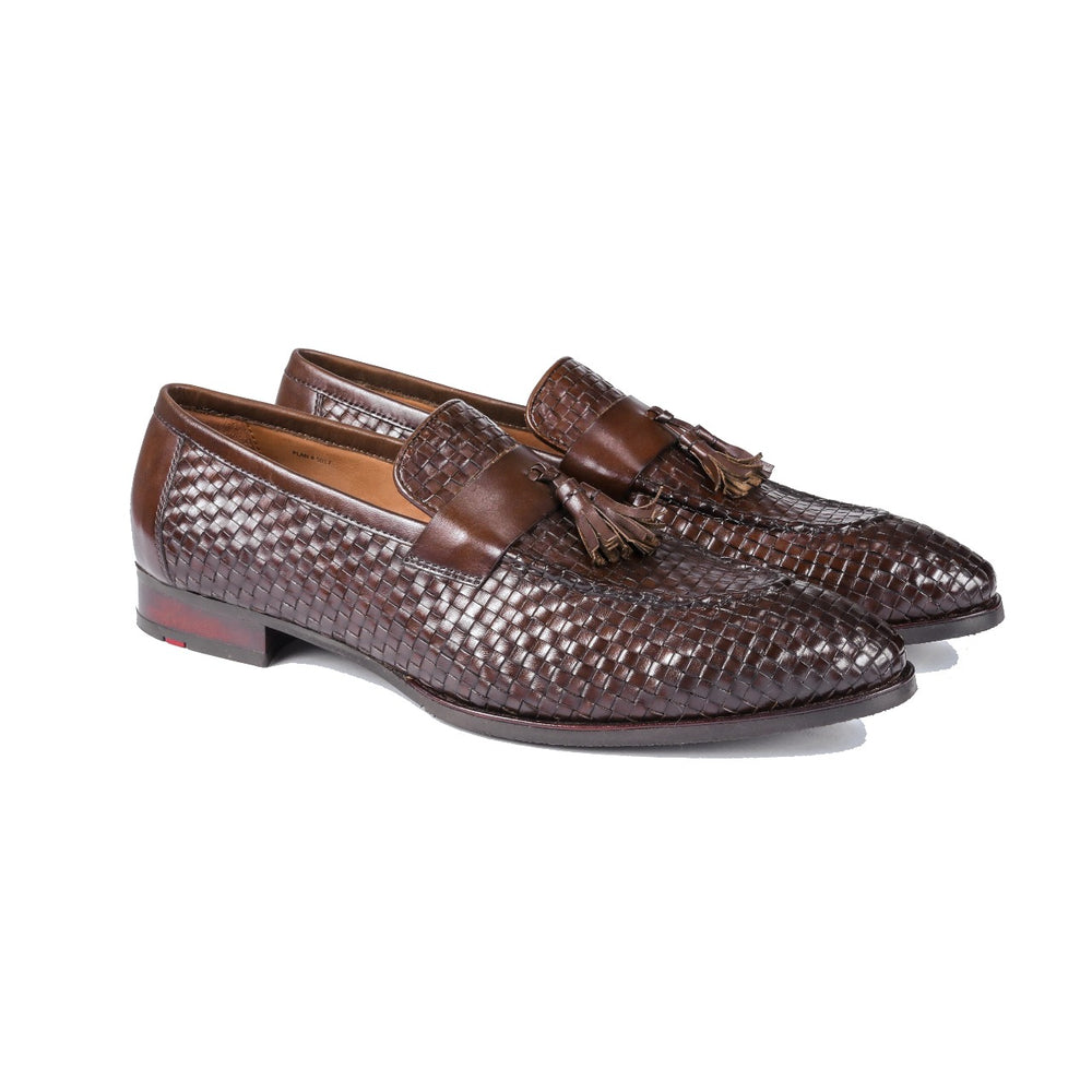 Greer Anderad Men's Leather Loafer Shoes Brown GA-04-16 - Greer & Anderad