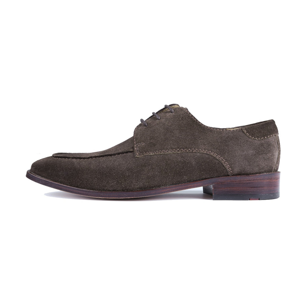 Greer Anderad Men's Leather Lace-up Suede Derby Shoes Brown GA-02-27 - Greer & Anderad