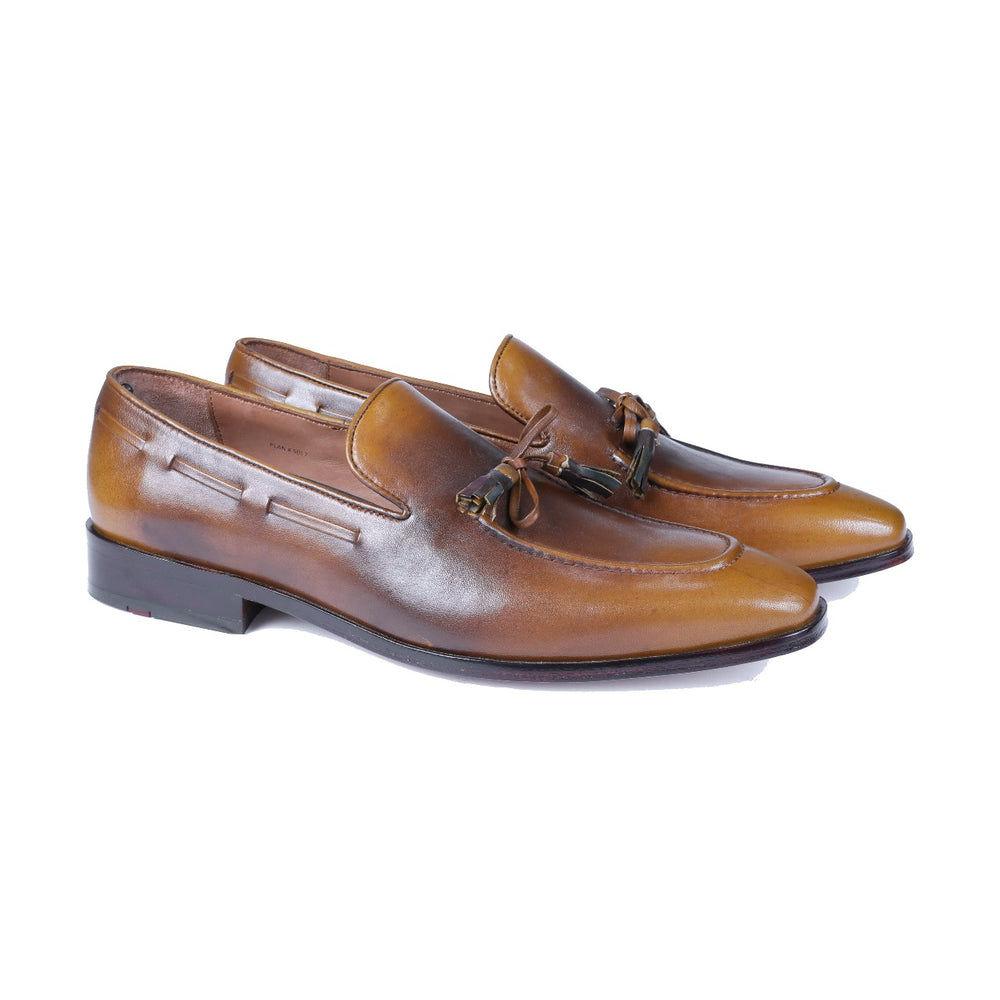 Greer Anderad Men's Leather Loafer Shoes Tan GA-02-26 - Greer & Anderad