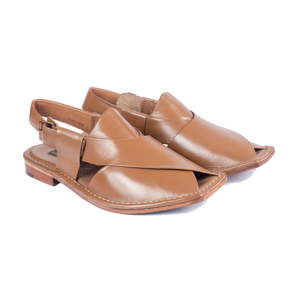 Men's Chappal GA-KT-01 Tan