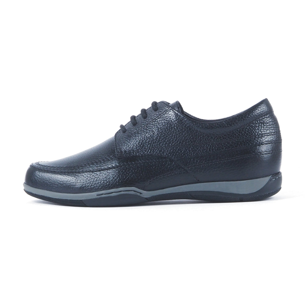 Greer Anderad Men's Leather Casual / Comfort Lace-up Derby Shoes Black GA-06-03 - Greer & Anderad