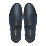 Greer Anderad Men's Leather Casual / Comfort Suede Slip-on Shoes Black GA-06-05 - Greer & Anderad