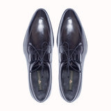 Greer Anderad Men's Leather Lace-up Derby Shoes Black GA-04-12 - Greer & Anderad