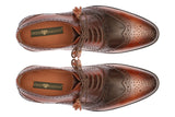 Greer Anderad Men's Leather Oxford Tan Brown Shoes GA-03-05