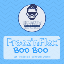Big Josh's Boo Boo Pad, Reusable Flexible Freezable Soft Cold Pad